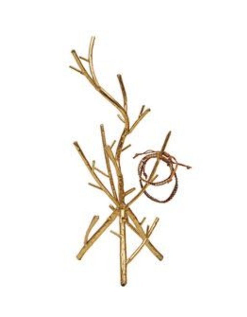 Metal Twig Jewelry Holder
