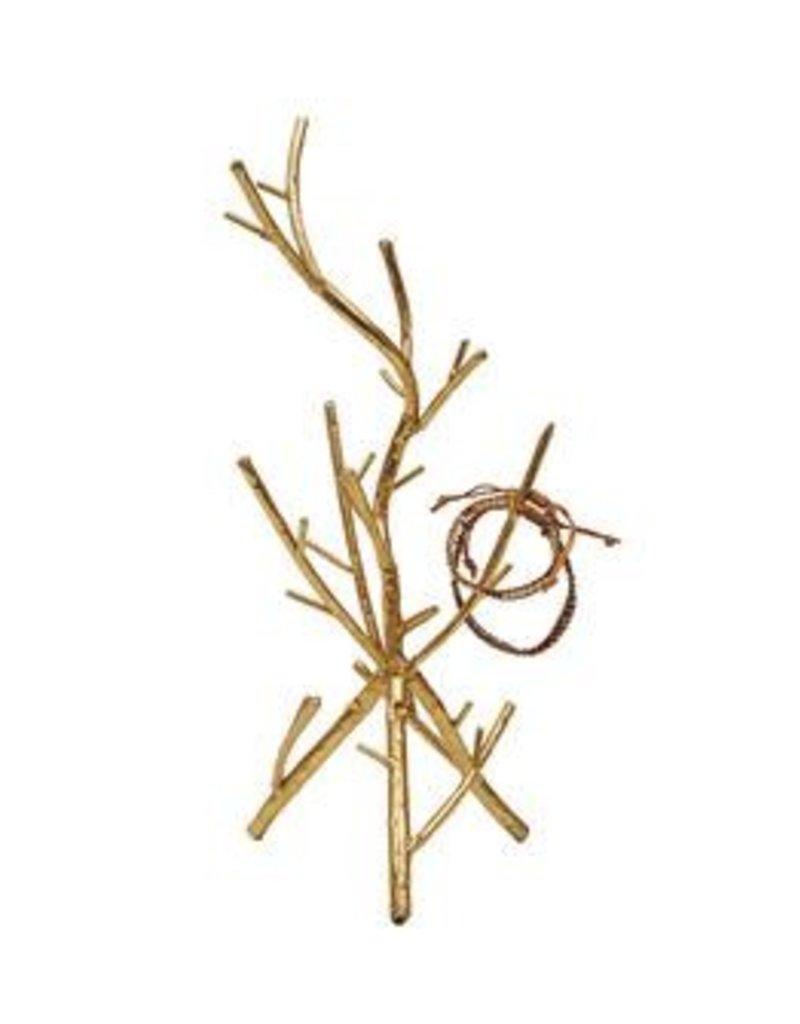 Metal Twig Jewelry Holder
