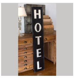 Embossed Hotel Sign