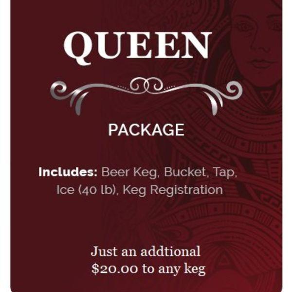 KingKeg Queen Package