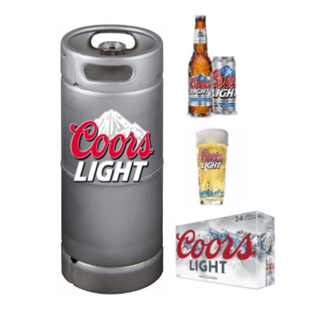 Coors Light 7 5 GAL KEG