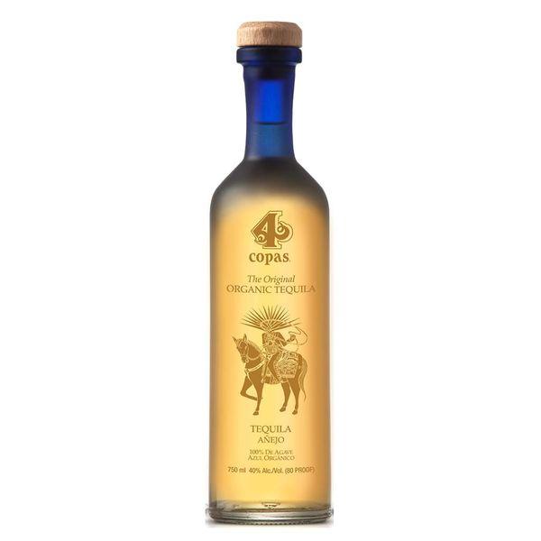 4 Copas Tequila Anejo (750ML)