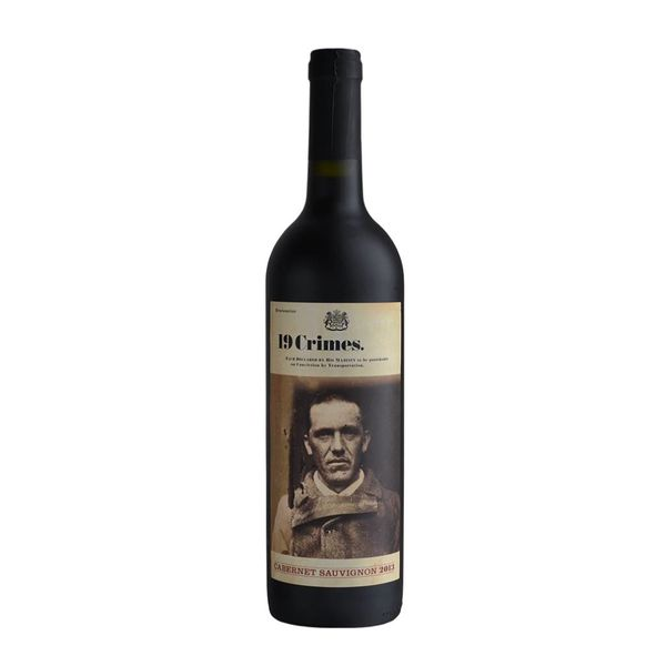 19 Crimes 19 Crimes Cabernet Sauvigion 2015 (750ML)