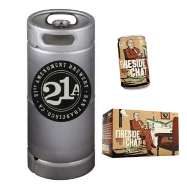 21st Amendment Brewery 21st Amendment Fireside Chat Winter Spiced Ale (5.5 GAL KEG)