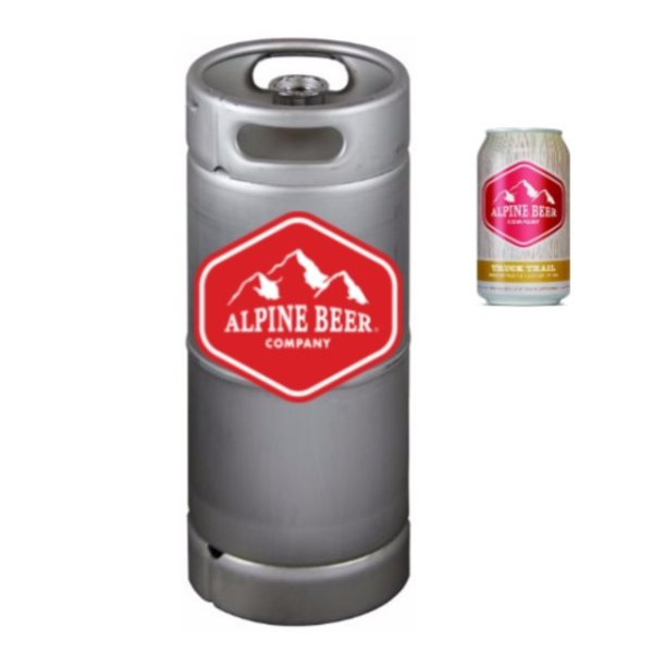 Alpine Alpine Truck Trail American Pale Ale (5.5 GAL KEG)