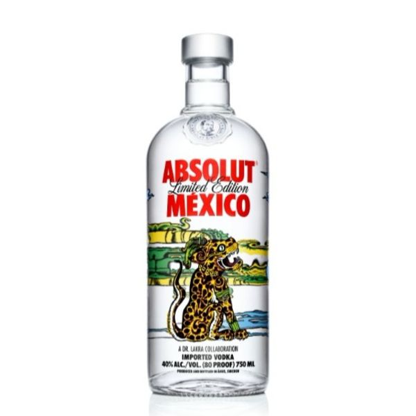 Absolut Absolut Vodka Mexico Limited Edition (750ML)