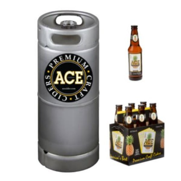 Ace Pineapple Hard Cider (5.5 GAL KEG)