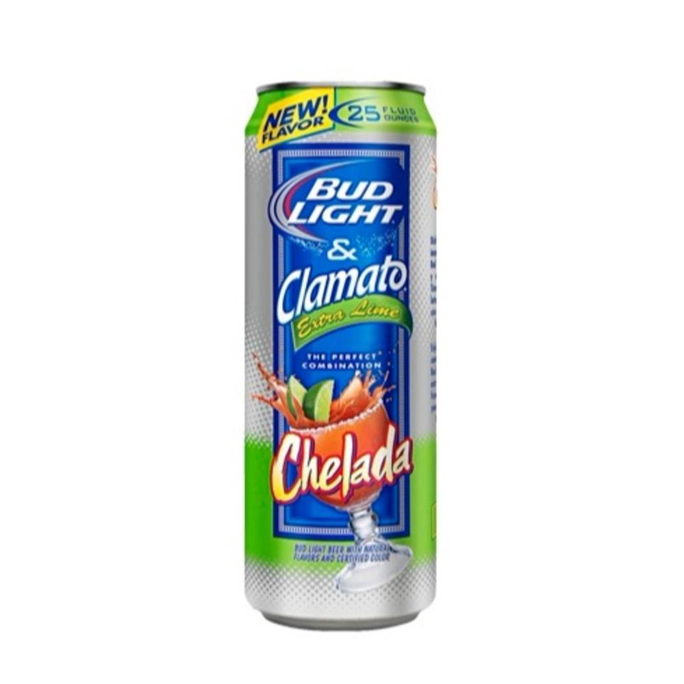 Anheuser Busch Bud Light U0026 Clamato Extra Lime Chelada (25OZ)