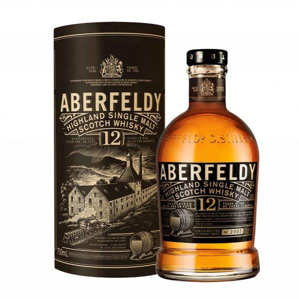 Aberfieldy Highland Single Malt Scoth Whiskey 12 Years (750ML)