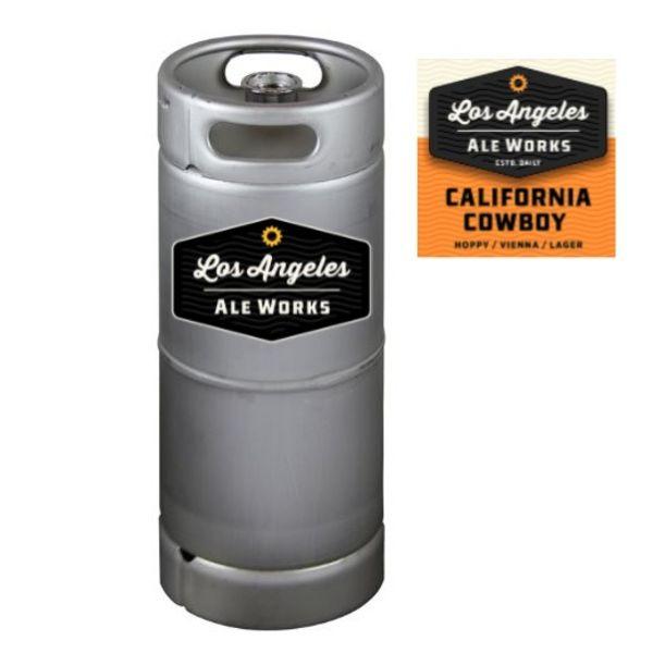 Los Angeles California Cowboy Hoppy Lager (5.5 GAL KEG)