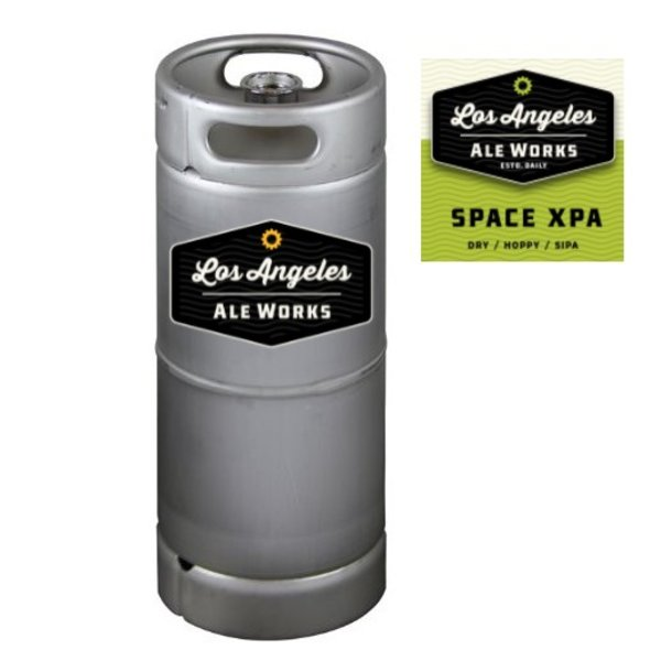 Los Angeles Ale Works Space XPA Sipa (5.5 GAL KEG)