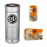 21st Amendment Brewery 21st Amendment Brew Free! or Die Blood Orange IPA (5.5 GAL KEG)