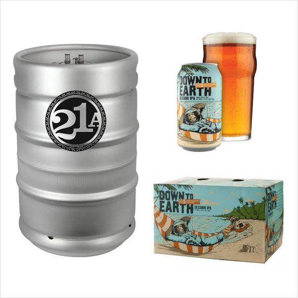 21st Amendment Brewery 21st Amendment Down to Earth Session IPA (15.5 GAL KEG)
