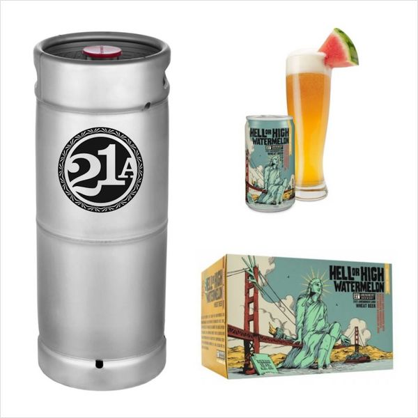 21st Amendment Brewery 21st Amendment Hell or High Watermelon (5.5 GAL KEG)