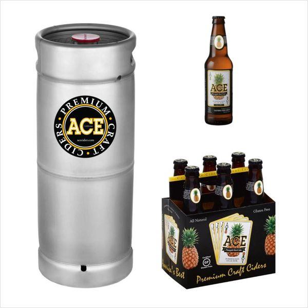 Ace Pineapple Hard Cider (5.5 GAL KEG)