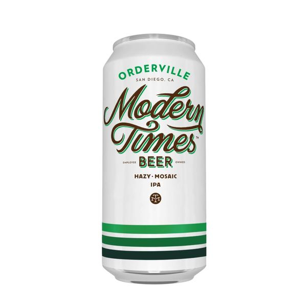 Modern Times Modern Times Beer Orderville Hazy Mosaic IPA (16OZ CANS)