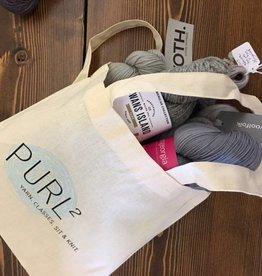 purl2 Tote bag