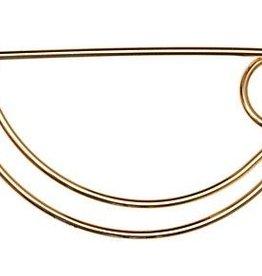 Rose Gold Kilt Pin (Small)
