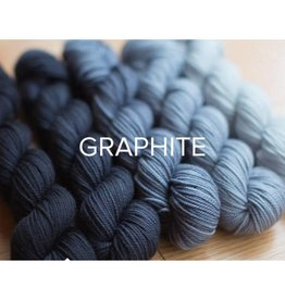 SweetGeorgia Yarns Party Of Five Graphite