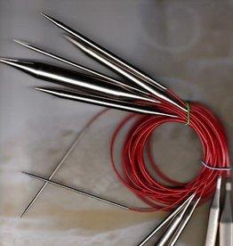 """ChiaoGoo Red Lace Circular 8 40"""""""