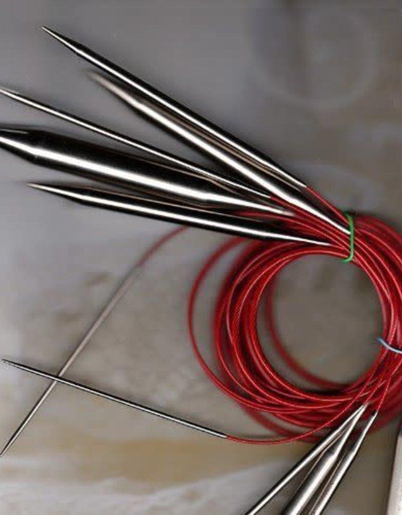 """ChiaoGoo Red Lace Circular 5 24"""""""