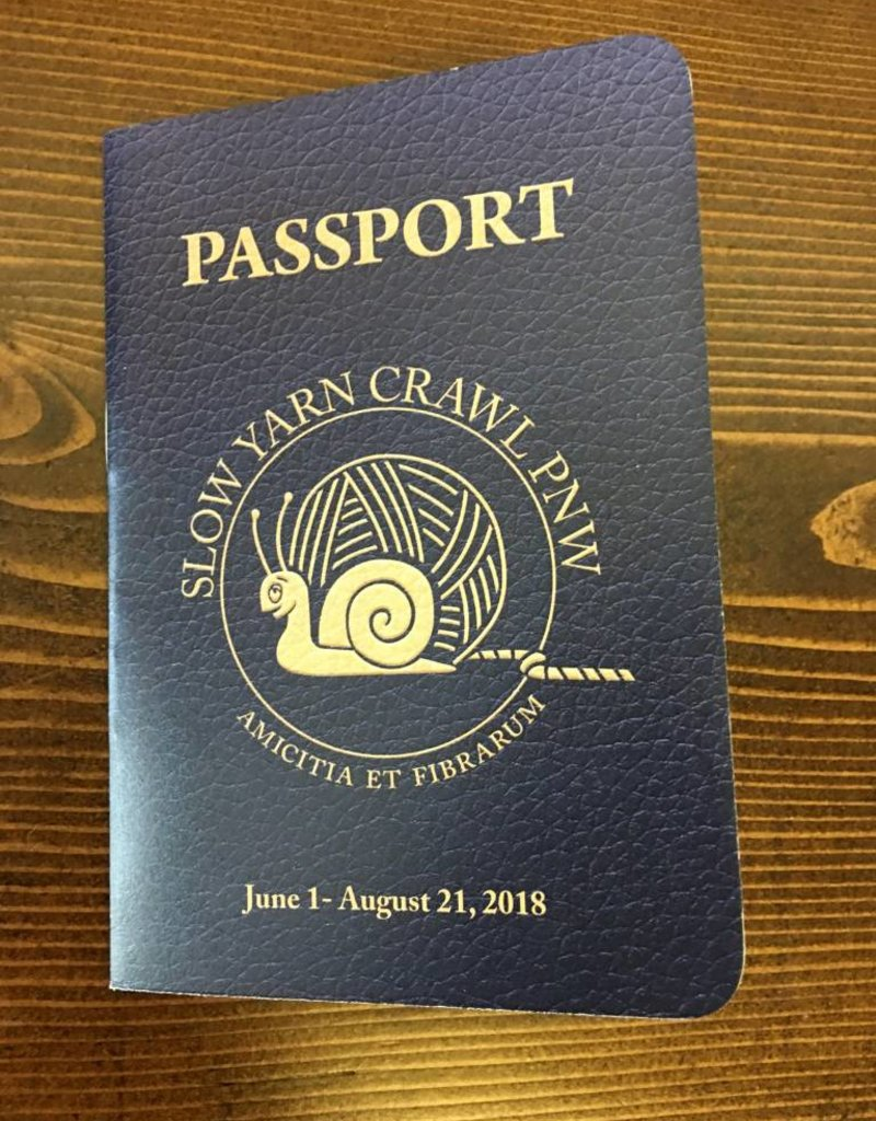 PNW Slow Yarn Crawl Passport