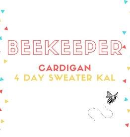 Beekeeper Cardigan KAL Yarn Pre-Order (USA 3-ply DK)