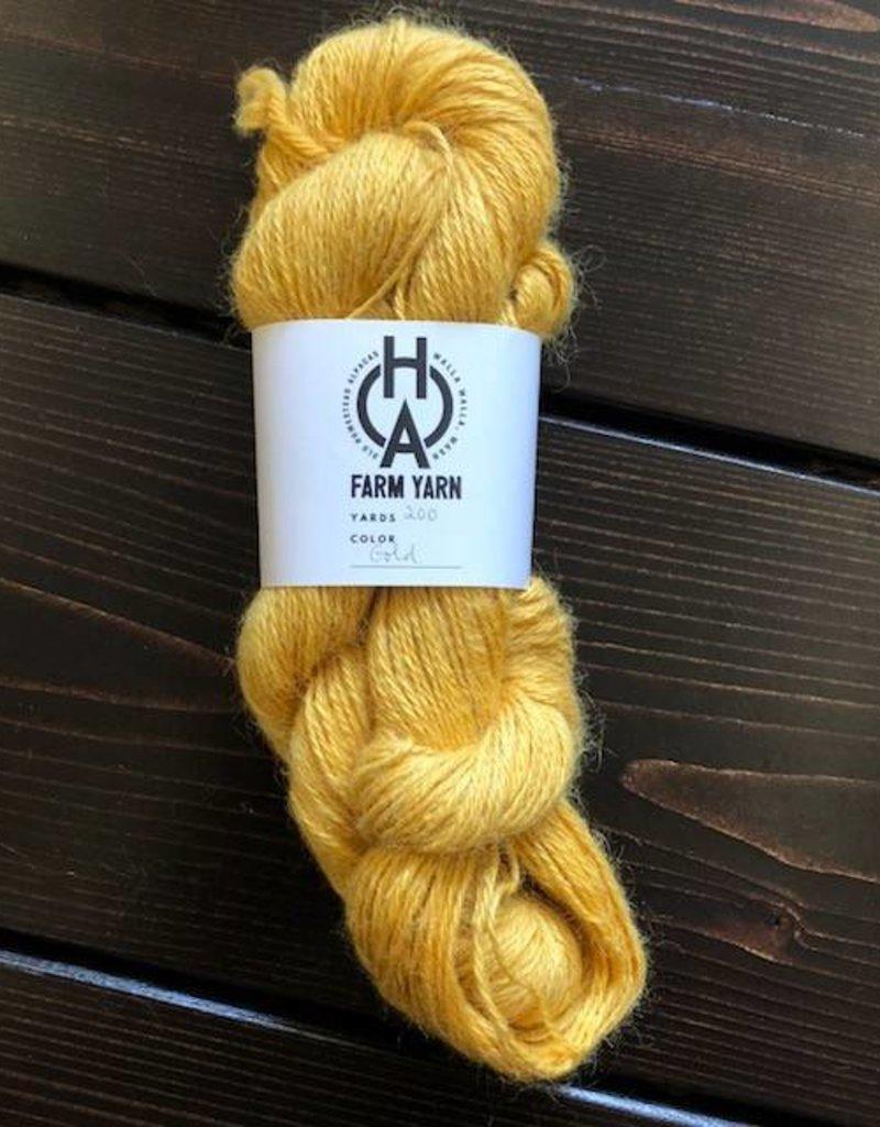 Old Homestead Alpacas 2-ply 100% Suri Gold