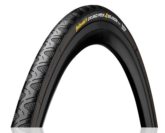 Continental Grand Prix 4 Season 700 X 25 Black-Duraskin