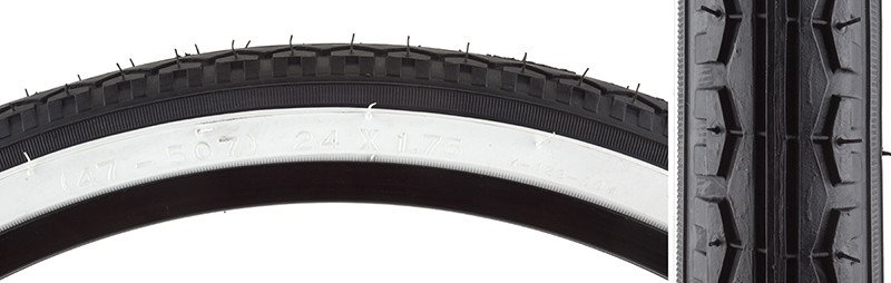 INNOVATION TIRES KEN 24X1.75 K123 BK/WH1