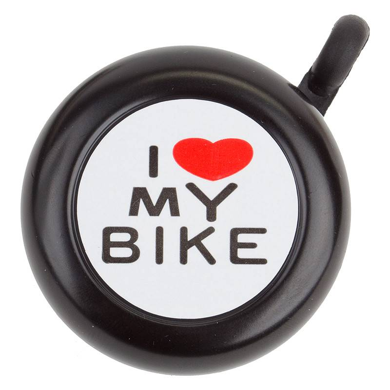 SUNLITE BELL SUNLT I LOVE MY BIKE BK
