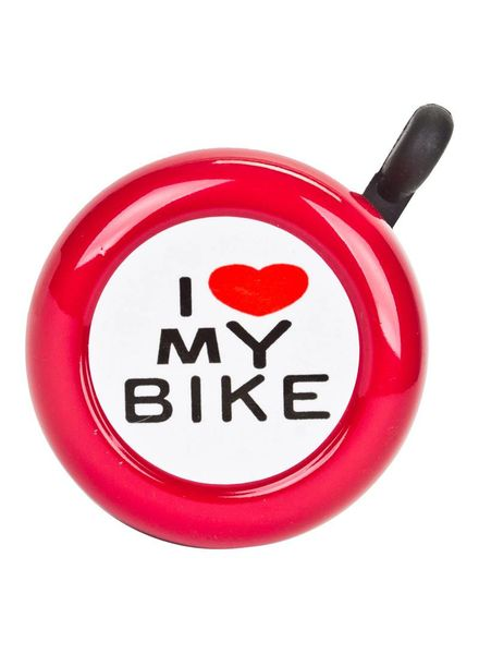 SUNLITE BELL SUNLT I LOVE MY BIKE RED