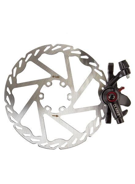 CLARKS BRAKE DISC CLK CMD-17 MECH ForR 160mm BK