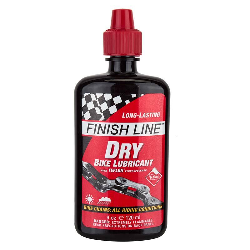 Finish Line LUBE F-L DRYLUBE TEF 4oz NONAEROSOL DRIPBOTTLE 12cs