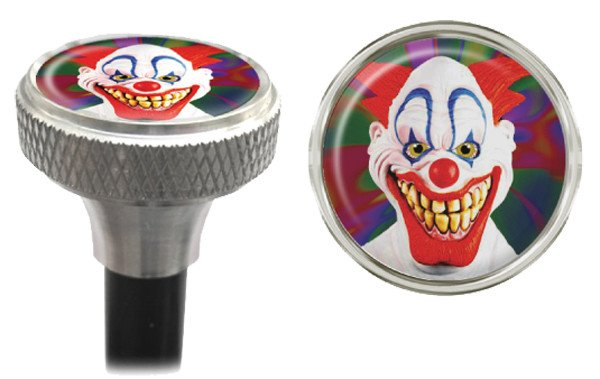 CLEAN MOTION VALVE CAPS CLEAN MOTION EVIL CLOWN