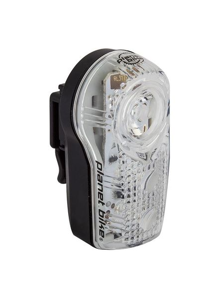 PLANET BIKE LIGHT PB RR SUPERFLASH STEALTH BLINKY .5w 2LED BK