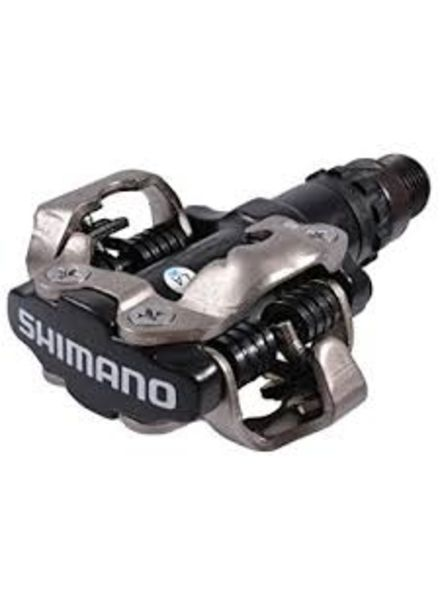 Shimano PEDAL, (03) PD-M520L BLACK SPD PEDAL, W/CLEAT