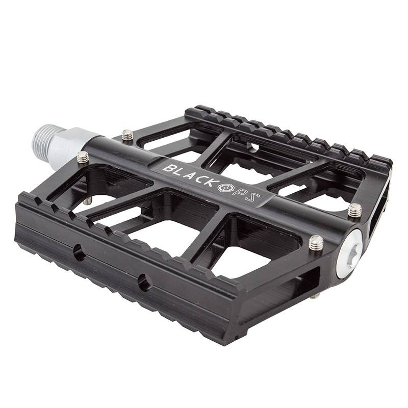 BLACK OPS PEDALS BK-OPS X-BAR CNC 2PC SLD 9/16 BK