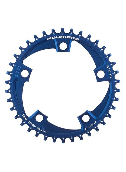 FOURIERS CHAINRING FOURIER 110mm 38T 5B BU