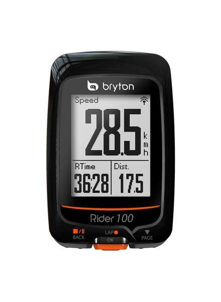 BRYTON COMPUTER BRYTON RIDER 100T GPS ANT+/BLUETOOTH w/HR-MONITOR/CADENCE-SENSOR BK