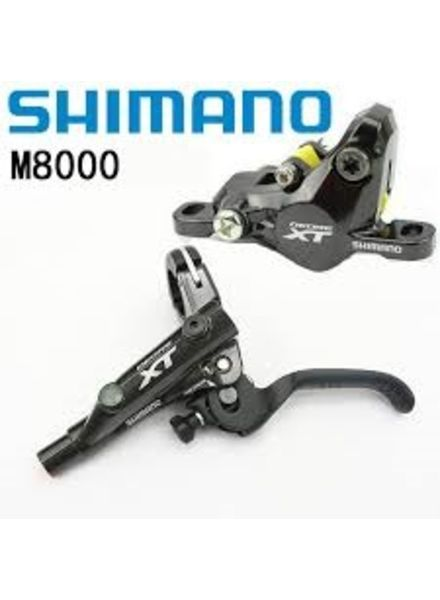 Shimano DISC-BRAKE SET, XT M8000 RIGHT/REAR, METAL W/FIN