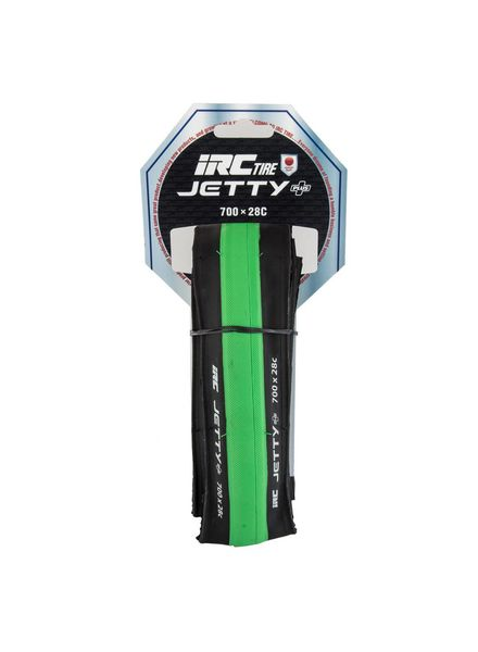 IRC TIRES IRC 700X28C JETTY PLUS GN FOLD