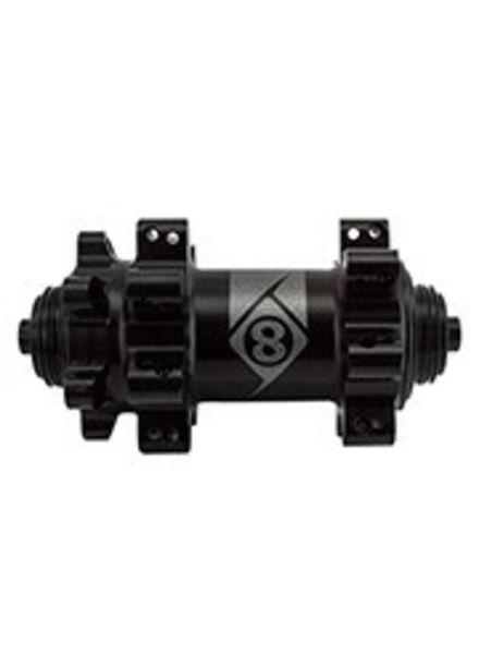 ORIGIN8 HUB FT OR8 CX/GX1110 ELITE QR 6B 28x100 SB BK NO SKEWER STRAIGHT PULL