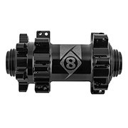 ORIGIN8 HUB FT OR8 CX/GX1110 ELITE 15mmTA 6B 28x100 SB BK STRAIGHT PULL