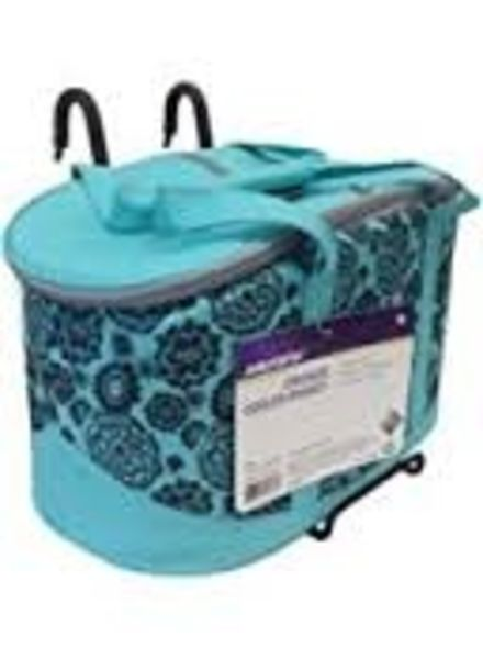 JRA BICYCLE COMPANY HUFFY INSULATED Q/R BAR BAG TURQUOISE