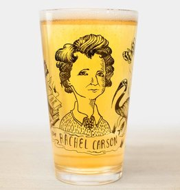 Cognitive Surplus Heroes of Science Pint Glass