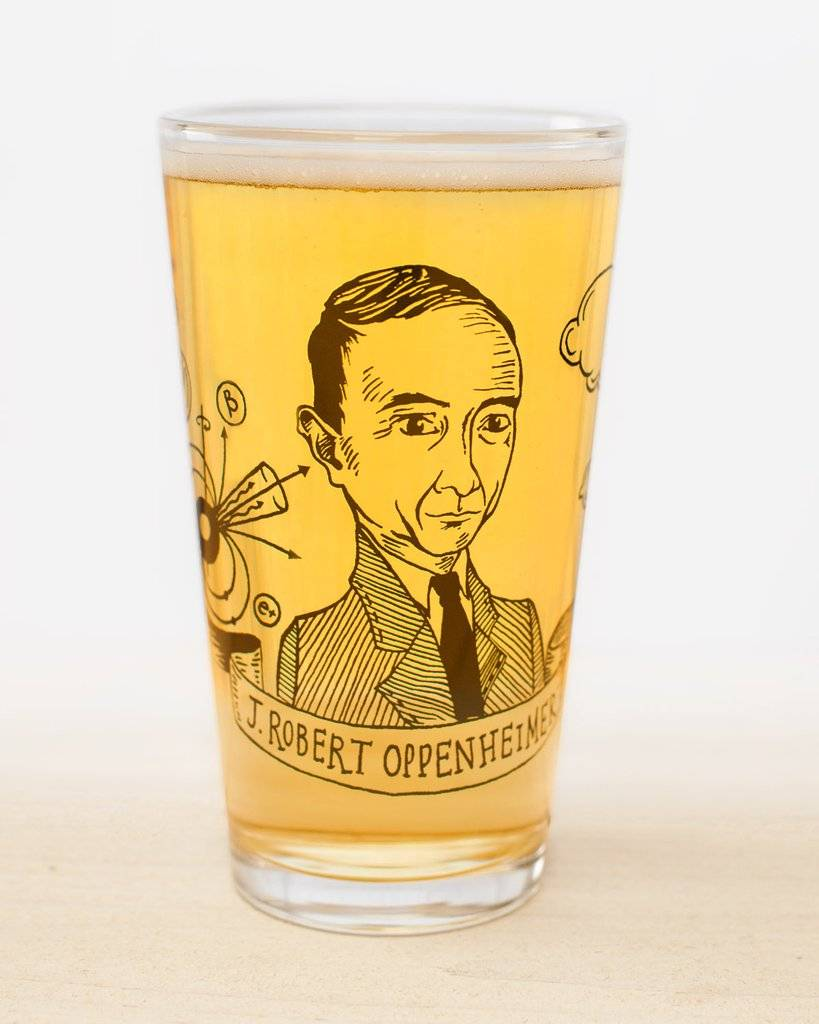 Cognitive Surplus Heroes of Science Pint Glasses