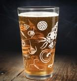 Cognitive Surplus Pint Glass - Marine Plankton