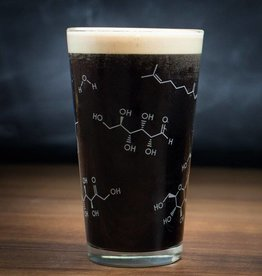 Cognitive Surplus Pint Glass - Chemistry of Beer