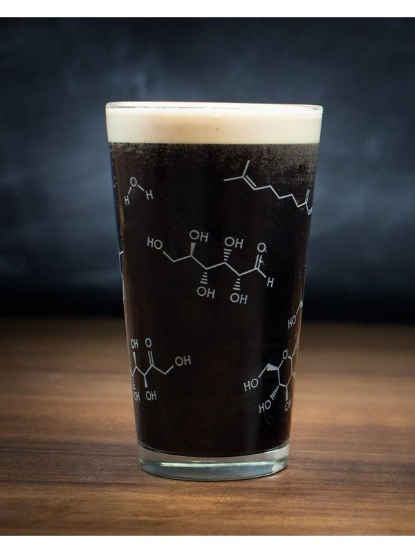 Pint Glass - Chemistry of Beer
